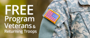 Free program for Veterans & returning Troops